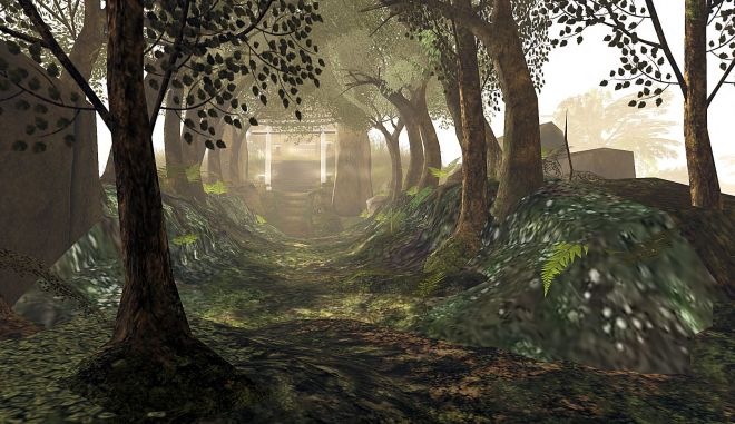 Nishi Shrine Path2